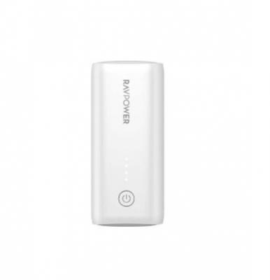 RAVPower 6700mAh Power Bank Ismart White. RP-PB169