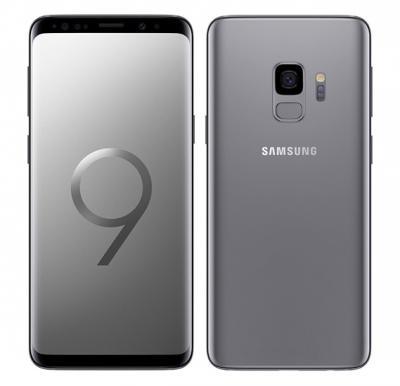 Samsung Galaxy S9, Dual SIM, 64GB, 4GB RAM, 4G LTE, Titanium Grey.