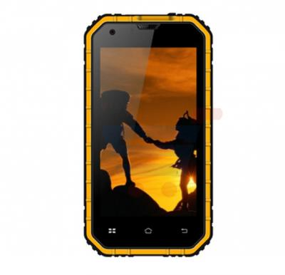 S-COLOR H20 Rugged Phone ,4GLTE,Android 5.1,4.5 Inch Display,1GB RAM,8GB Storage,Dual Camera,Dual Sim,Wifi-Orange