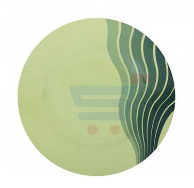 Royalford Melamine Ware 10 Inch Dinner Plate Radiant Thai Green - RF8155