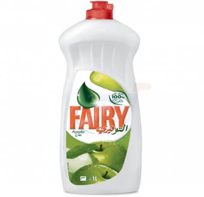 Fairy Dish Washing Liquid Apple  Soap 1L