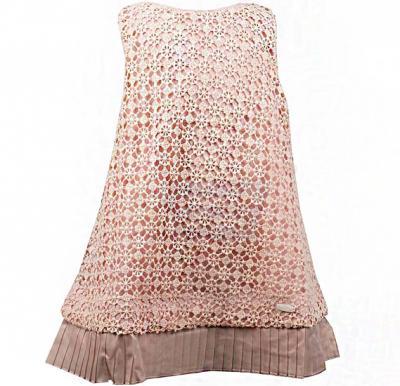 Amigo 7  Children Dress  Champagne - 6-9M - 1310
