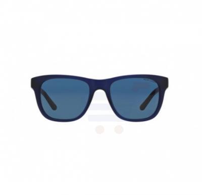 96df5186b723 Ralph Lauren Square Matte Blue Frame & Blue Mirrored Sunglasses For Men -  0PH4090-546280