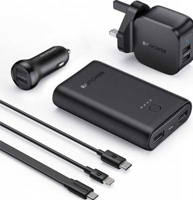 RAVPower 6 In 1 Prime Power Bank Combo, RP-PB210