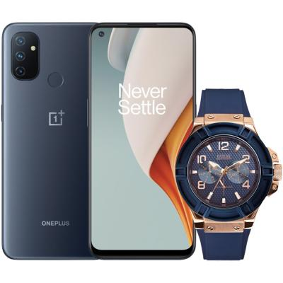 Buy Guess W0247G3 Analog Blue Dial Mens Watch and Get OnePlus Nord N100 Free