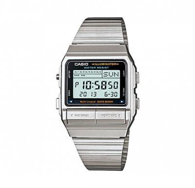 Casio Womens Stainless Steel Digital Watch DB-380-1DF