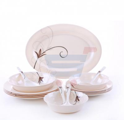 Epsilon  16 Pcs Melamine Ware Dinner Set EN3644