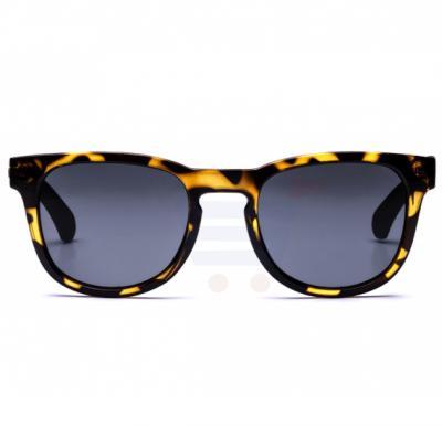 Calvin Klein Wayfarer Tokyo Tortoise Frame & Gradient Mirrored Sunglasses For Unisex - CKJ783S-217