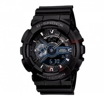 Casio G-Shock GA-110-1BDR Analog Digital Watch For Men-Black