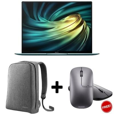 Huawei Matebook X Pro Emerald Green, MachC-WAE9B With Matebook Bag And Mouse For Free