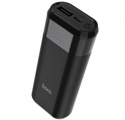 Hoco Entourage mobile power bank 5200mAh - Black, B35A
