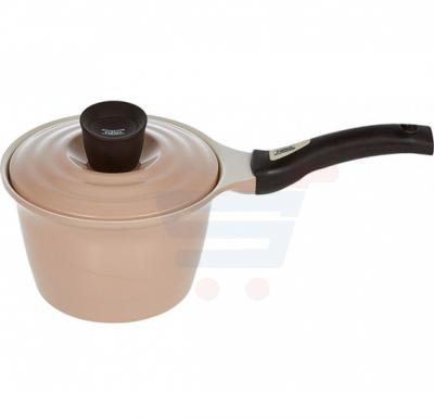 Pallas Ceramic Eco Sauce Pan with lid 18 cm, Beige