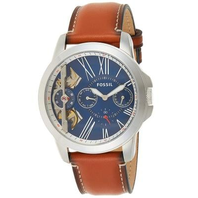 Fossil Analog Blue Dial Gents Watch, ME1161
