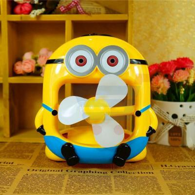 Minion Desk Cooling Mini Fan USB Powered EA-886
