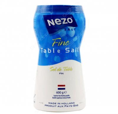 Nezo Fine Salt, 600gm