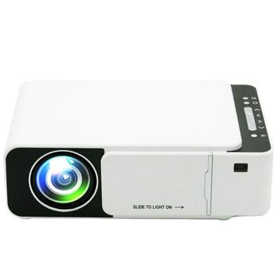 Multimedia T5 LED Projector 1080 HD Portable Video Projector WIFI Reay USB HDMI