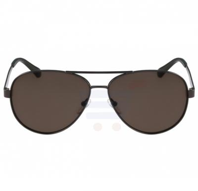 Calvin Klein Aviator Gunmetal Frame & Gradient Mirrored Sunglasses For Unisex - CK2145S-060