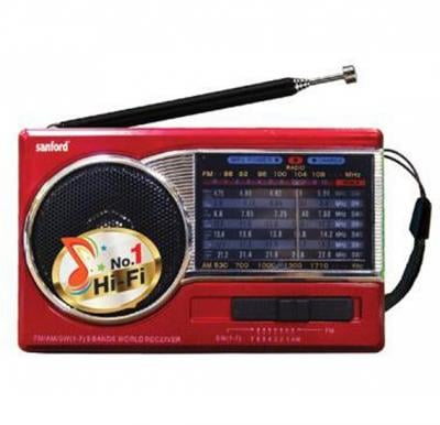 Sanford Rechargeable Portable Radio - SF1019PR BS