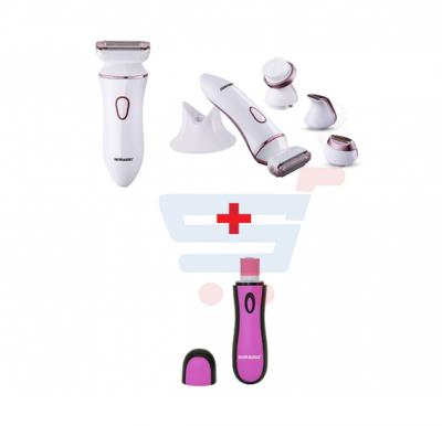 Bundle-Combo Offer Sonashi Electronic Nail Buffer SNB-001 + Sonashi Lady Shaver Set SBS-400