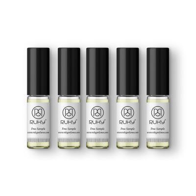 Ruky 5 Piece 2 ml Sample Perfume Assorted
