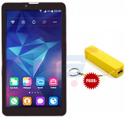 BSNL A19, Tablet 7 inch, Android 4.4, 8GB, Dual Core, 4G LTE, Dual Camera, Black, And Get free power bank