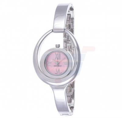 Nina Ricci Analog Pink Dial Stainless Steel Band Ladies Watch - NR030.12.62.1