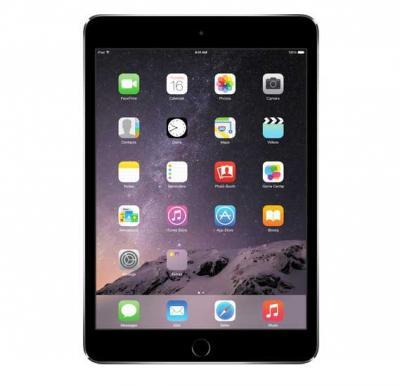 Apple iPad Mini, 16GB, Wifi, 4G LTE, Space Gray with 1 Year Axiom Warranty