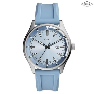 Fossil Analog Blue Dial Mens Watch, FS5537