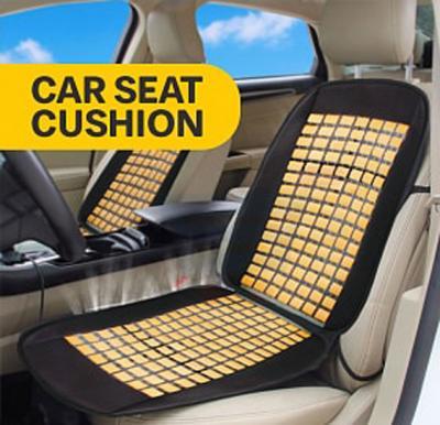 Car Seat Cushion, Black Cream