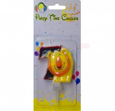 Party Time Candle animal 7 M116