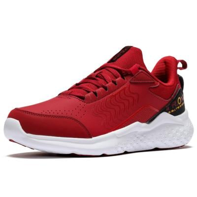 361 Degrees Relax Walk  Sports  Shoes For Men Red