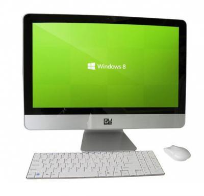 QUBE QL21345H All in One, Intel Core i3, 4GB RAM, 500GB HDD, Windows 8, 21.5 inch LED Monitor