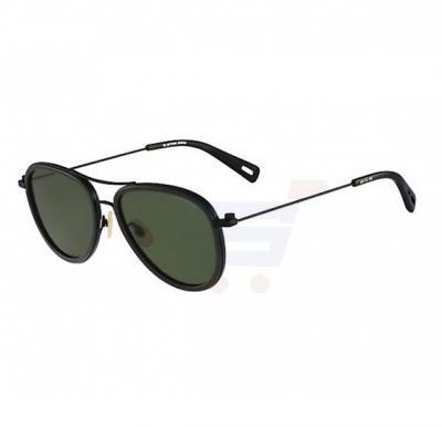 G-Star Aviator Black Frame & Green Gradient Mirrored Sunglasses For Unisex - GS112S-308