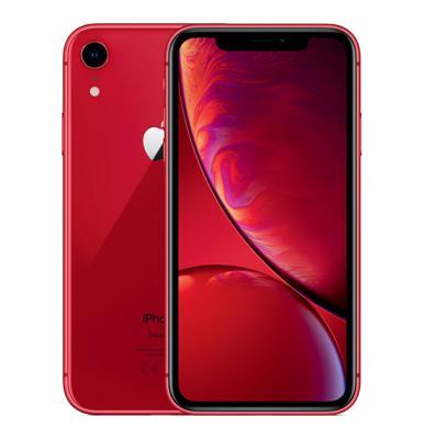 Apple iPhone XR, Dual SIM, 64GB, 3GB RAM, 4G LTE, Red.