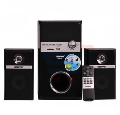 Geepas Home Theater System With FM Radio,  GMS7494N USB / SD Card Reader