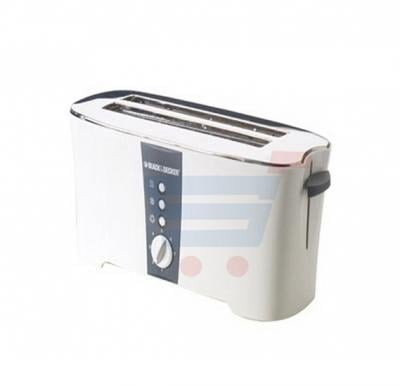 Black & Decker 4 Slice long slot cool touch Toaster, ET124-B5