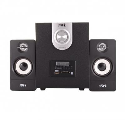 Spark 2-in-1 Multimedia Speaker SP-104BL, with Bluetooth and FM