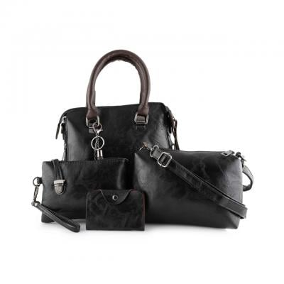 4 pc womens new bags black color