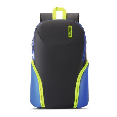 American Tourister Bff Backpack 01 22L Backpack  Black Blue