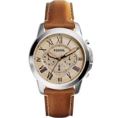 Fossil Dean Casual Leather Band Watch For Men - FS5118