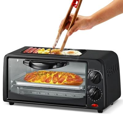 HTC Mini 8 liter Toaster Oven With Top Grill 232-OE