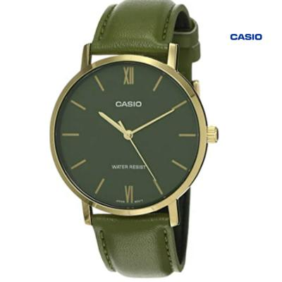 Casio MTP-VT01L-3BUDF Analog Watch For Men, Green