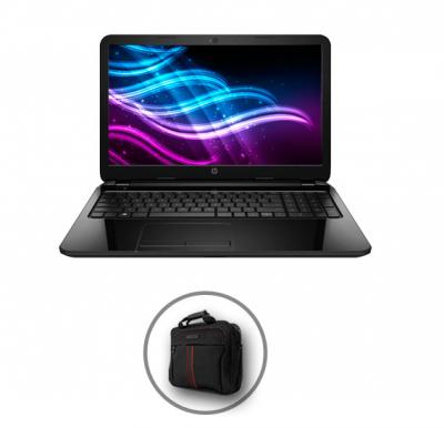 HP 15a C182 Laptop, Intel processor, 4GB RAM, 500GB HDD, 15.6 inch Display and Get Laptop Bag Free!