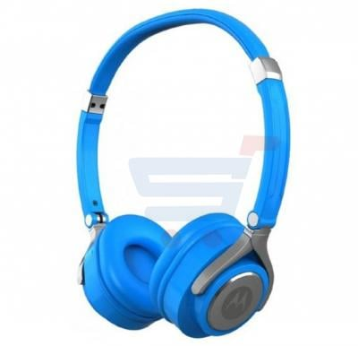 Motorola Pulse 2 Wired Headset Blue