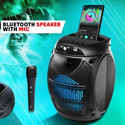 Bluetooth Speaker with Mic Black, ZQS-6115