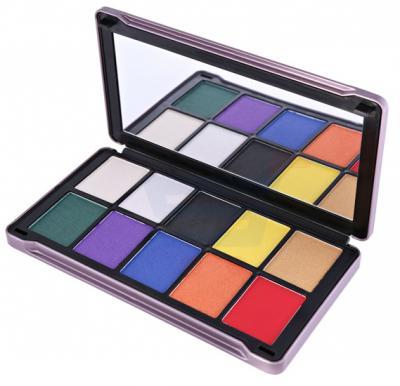 Ferrarucci 10 Color Eye Shadow 25g, 04