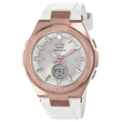 Casio Baby-G Analog-Digital Silver Dial Womens Watch, MSG-S200G-7ADR