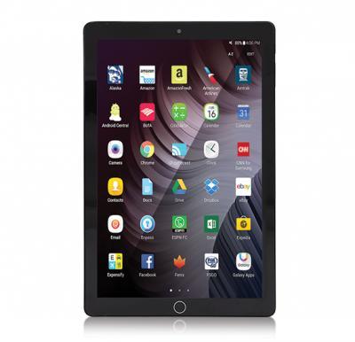 BSNL A50 Tablet Android 4.4, 4G 10.0 Inch Display, 3GB RAM, 64GB Storage, Dual Camara and Dual Sim - Black