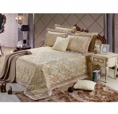 Senoures Lace Jacquard Bed Spread 3Pcs Set Double - SEB-004