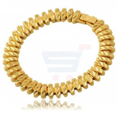 18k Real Gold Plated Stylish Chunky Bracelet